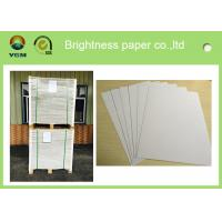 Anti Curl Thin Mill Board Paper , A4 Cardboard Sheets One Side Coated Manufactures