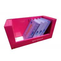 Corrugated cardboard counter display boxes , Girls decorative cardboard boxes Advertising Manufactures