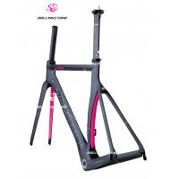 ROLLINGSTONE FULL CARBON ROAD bicycle FRAME 700C*54CM(TT) 700C black/pink