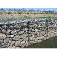China Galvanized and PVC coated Gabion Wire Mesh for River Protection wholesale