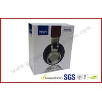 Electronics Packaging paper drawer boxes Printed CardBoard , Sleeve box for Headphone Manufactures