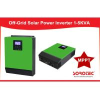 Off Grid Hybrid Solar Power Inverters For Self - consumption , 1KVA ~ 5KVA Capacity Manufactures