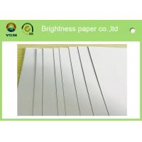 China Folding Box Making Paper Packaging Board , Cup Stock Paper Chemical Pulp Type on sale