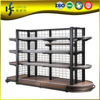 2015 hot sale supermarket layers standing wire dish rack Manufactures