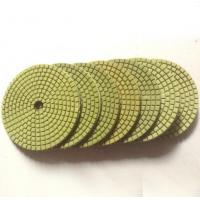 China Economic flexible green wet polishing pads on sale