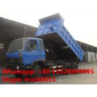 hot sale dongfeng RHD 6*4 18cbm-20cbm dump truck, hot sale 210hp diesel 20ton-30ton dump tipper truck with factory price Manufactures