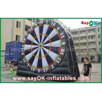Logo Printing 0.55mm PVC Inflatable Sports Game Customized Size Football Darts Board Manufactures