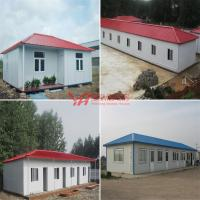 China All Kinds Of Prefabricted House Slope Roof Container Villa Sentry Box Fence Barrier Mobile House Custom Steel Structure on sale