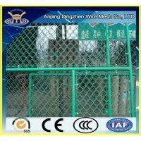 hot dipped galvanized and pvc coated chain link fence Manufactures