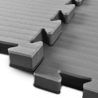 Buy cheap High Density Judo mat 1*1m with 40mm black and grey reversible mats 100% EVA from wholesalers