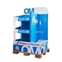 creative pop advertising cardboard exhibition stands Manufactures
