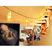 China Photo Clips String Lights-Warm White for Romantic Valentine