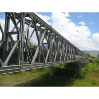 Electric Galvanized, Painting and Grinding prefabricated Structural Steel Bailey Bridge Manufactures