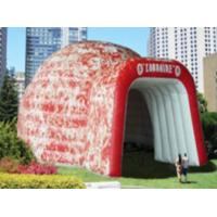 6m Pvc Advertising Igloo Inflatable Dome Tent With Printing logo for Show and Event Manufactures