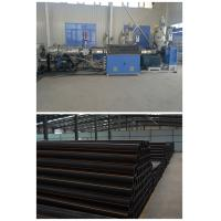 China PE Plastic Extrusion Line , PE Cool And Hot Water Pipe Production Machinery wholesale