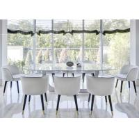 China Modern Hotel Dining Room Furniture Chair with Wood and Stainless Steel Leg on sale
