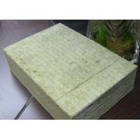 Rock Wool Roof Insulation Board Non - Toxic Corrosion Resistant Manufactures