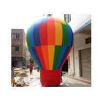 Customized Design Inflatable Advertising Products , Large Inflatable Balloon For Square Manufactures