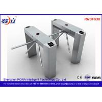 Access Control Tripod Turnstile Gate Stainless Steel For Public Areas Manufactures