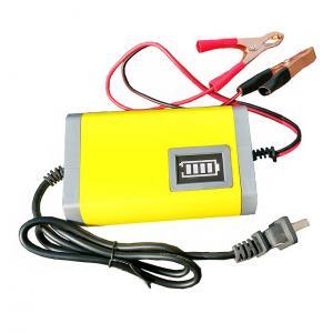 EU/US Plug car-charger 12V Battery Charger 12V Lead Acid Battery Charger 12V Motorcycle Battery Charger 12V 6A yellow Manufactures