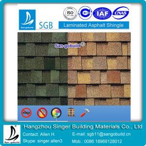 China double layer laminated asphalt shingle for America market on sale