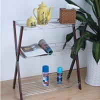 Shoes Rack, 2-Tier, Plated Surface Treatment, Measures 64.5 x 30 x 65.5cm Manufactures