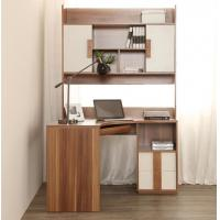 Recycled Modern Home Furniture Computer Corner Desk With Hutch Non Toxic Manufactures