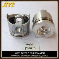 cummins komatsu excavator engine parts pc200-6 S6D95LE-1 piston 6209-31-2180 liner 6207-21-2110 Manufactures