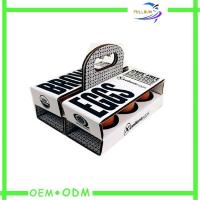 Egg Corrugated Paper Box , Strong Food cardboard presentation boxes Manufactures