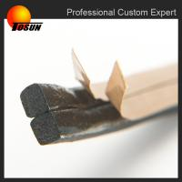 Adhesive extrusion rubber profiles Manufactures