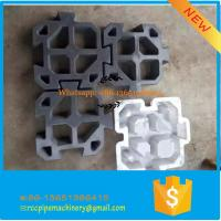 Durable pp plastic rubber interlocking injection brick mould Manufactures