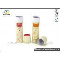China Full Color Packaging Paper Tube Recyclable Paperboard For Clothes Packing on sale
