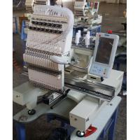 China Multi Needle Home Embroidery Machine , Computer Machine Embroidery For Shoes / Visors wholesale