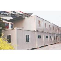 China Steel frame prefabricated house or prefab house prices on sale