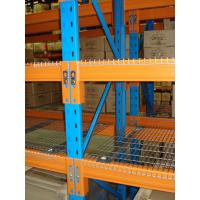 China Warehouse storage heavy duty and  powder coating dexion pallet rack system wholesale