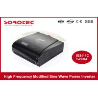 220VAC 50HZ High Frequency Power Inverters With LCD / LED Display , Visual Alarm Manufactures