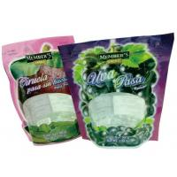 Resealable Stand Up Zipper Bags , Durable Food Grade Packaging Bags Custom Printed Manufactures