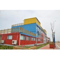 China CE sandwich panel house modern Prefabricated Container Hotel Design on sale