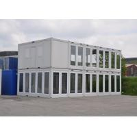 Prefab Modular Housing Two Storey Sliding Glass Wall Flat Pack Container House UK Manufactures