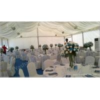 Professional 100 Seaters Luxury Wedding Tents For Rent , Beach Wedding Marquee