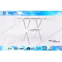X-type Folding Clothing Rack Coat Rack for garment standing hanging clothes rack Manufactures