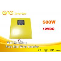 Wall - Mounting Off Grid Pure Sine Wave Inverter 500w 12V For Home Supply Manufactures