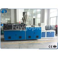 Twin Screw Plastic Extruder Machine Extrusion Line For Plastic Tube / PVC Pipe Manufactures
