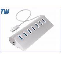Stylish and Portable DC Power Supply 7 Ports USB 3.0 Hub Usb 3.0 Cable Connected Manufactures