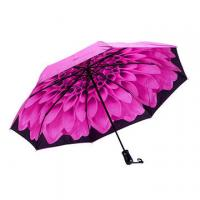 China Folding umbrella for Christmas gift, gift box, auto and close open, full heat transfer on sale