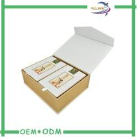Coated Paper Eco Magnetic Paper Gift Boxes Matt Lamination Surface FSC Approval Manufactures