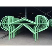 U Channel Green Workshop Steel Structures For Railway Station Manufactures