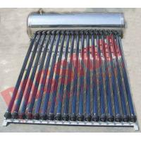 China Automatic Solar Water Heating System , Black Pipe Solar Water Heater Multi Purpose on sale