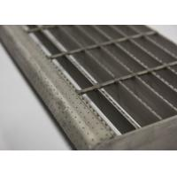 Composite Galvanised Steel Steps, Metal Step TreadsWith  Checkered Plate