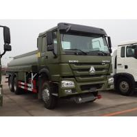 18CBM 6x4 Oil Tanker Truck HOWO HW76 Cab With One Bunk 12.00R20 Tire